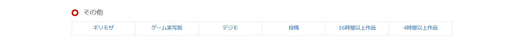 コスパトップクラスなDMM見放題chライト(FANZA)のジャンル一覧05